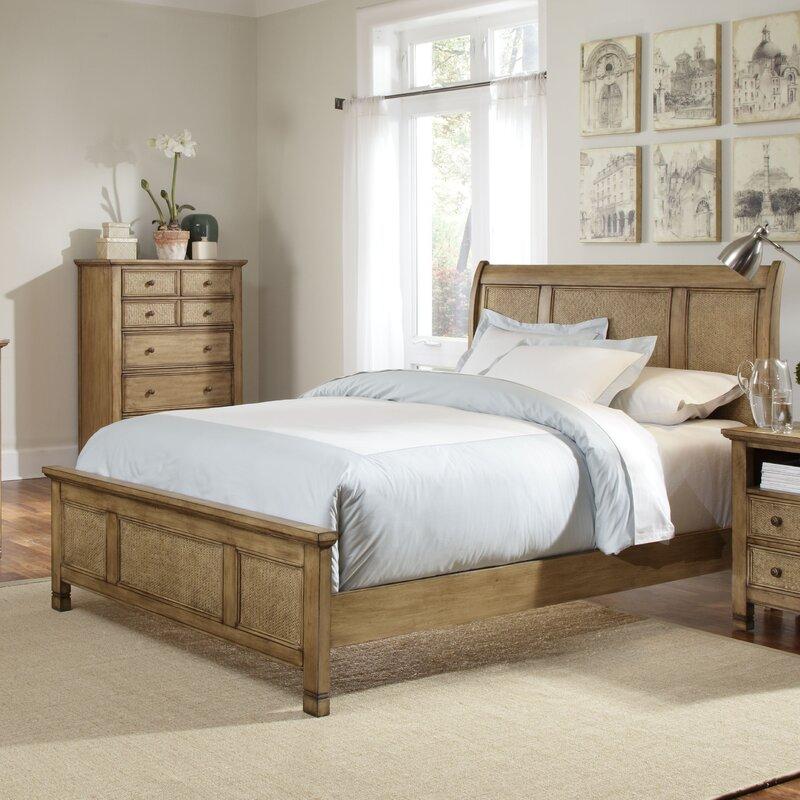 Progressive Furniture Kingston Isle Panel Configurable Bedroom Set - Progressive furniture bedroom sets