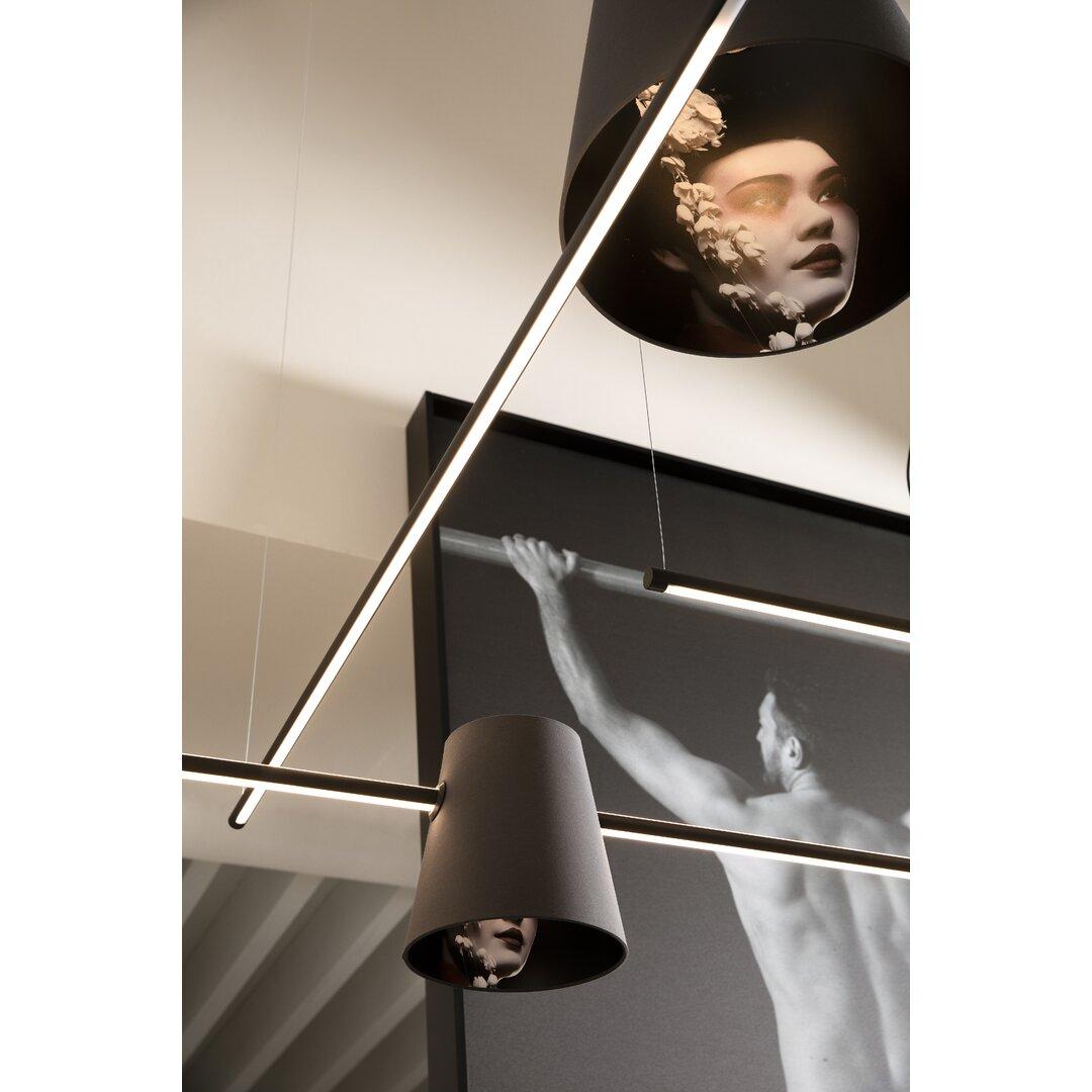 Cupido 2-Light LED Cone Pendant