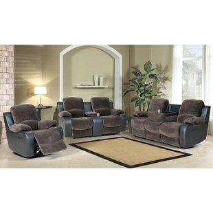Beverly Fine Furniture Santiago Reclining 3 Piece Living Room Set