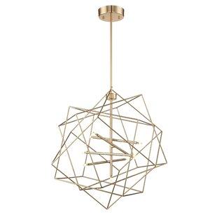 Cohutta 9-Light Geometric Chandelier