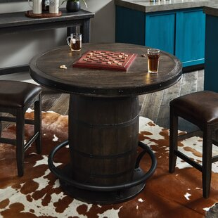 Renick Barrel Pub Table Foundry Select