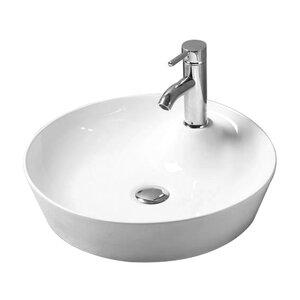 Belfry Bathroom 46 cm Aufsatz-Waschbecken Smart