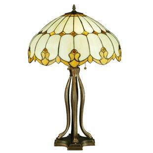 Meyda Tiffany Greenbriar Oak Nouveau Dome 30