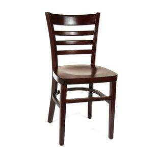 Benkel Seating Ladderback Solid Wood Dining Chair (Set of 2)