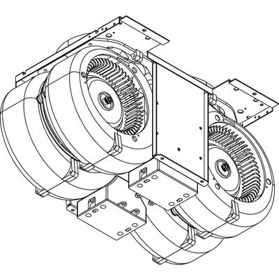 Broan Linklogic Universal Range Hood Automatic Make Up Air Damper