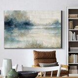 Still Evening Waters II - Wrapped Canvas Painting Print