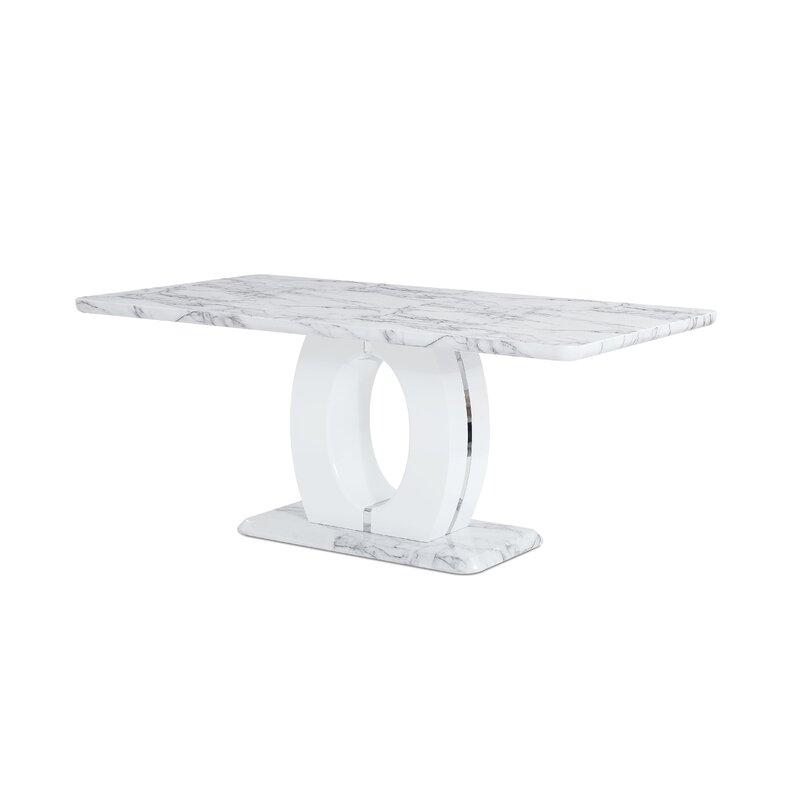 Kinsley Pedestal Base Dining Table