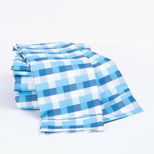 Patch Plaid 4 Piece Sheet Set