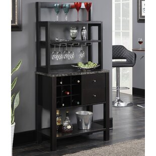 Wes Bar with Wine Storage by Wade Logan
