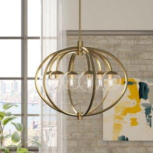Mercury Row Bynoe 6-Light Globe Chandelier
