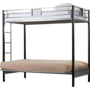 Compare prices Elya Twin Over Full Futon Bunk Bed by Viv + Rae Reviews (2019) & Buyer's Guide
