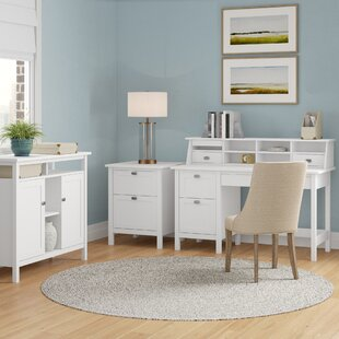 Lux Pedestal Desk Set