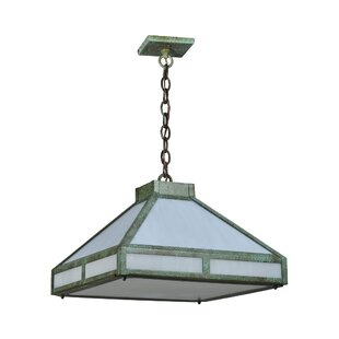 Meyda Tiffany Whitewing Prime 4-Light Pendant