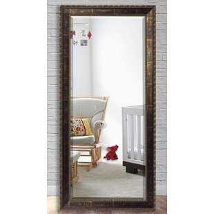 Brayden Studio Copper Bronze Beveled Wall Mirror