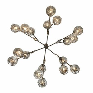Brayden Studio Amaya 18-Light Sputnik Chandelier