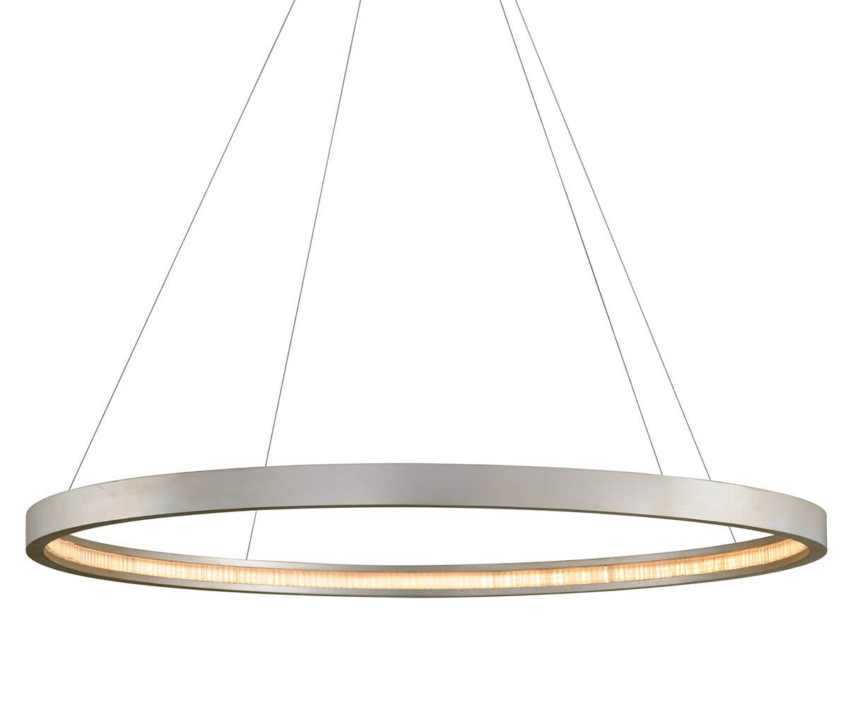 Corbett Lighting Jasmine 1 Light Unique Statement Geometric Led Pendant Wayfair
