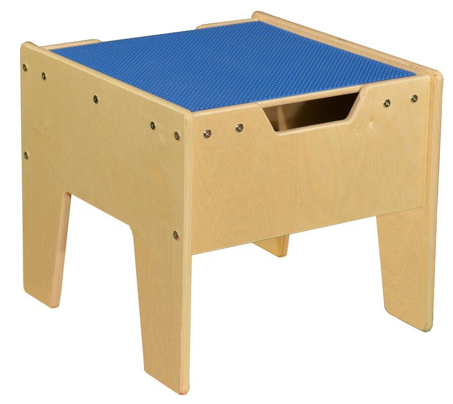 Kids Rectangle Lego Table