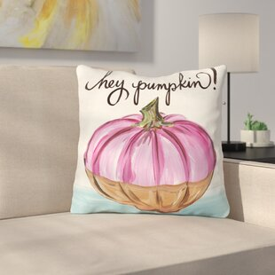 Tedesco Hey Pumpkin Throw Pillow