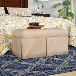Upholstered Flip Top Storage Bench