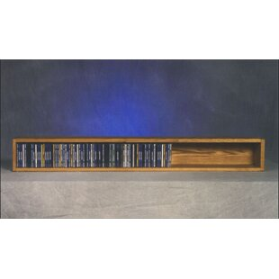 100 Series 118 CD Multimedia Tabletop Storage Rack by Wood Shed Sale