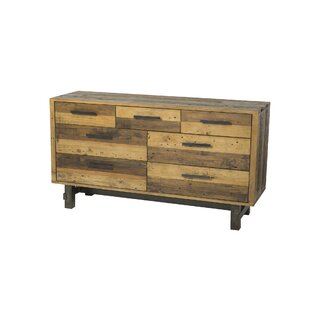 Union Rustic Langner 7 Drawer Dresser