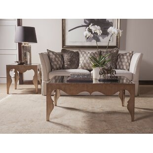 Van Cleef 2 Piece Coffee Table Set