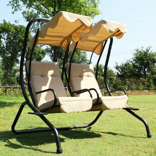 Porch Swing with Stand by Adeco Trading