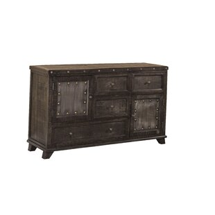 Loon Peak Campbell Hill 4 Drawer Combo Dresser