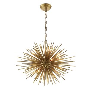 Brayden Studio Wendler 12-Light Sputnik Chandelier