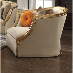 Neece Barrel Chair by Astoria Grand