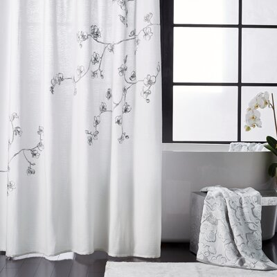 Orchid 100 Cotton Single Shower Curtain