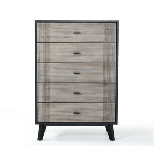 Ivy Bronx Donham 5 Drawer Chest