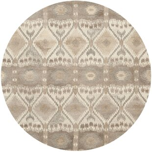 Roberts Hand-Tufted Cotton Beige/Gray Area Rug by Union Rustic