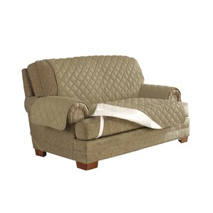 Ultimate Waterproof Box Cushion Loveseat Slipcover by Red Barrel Studio