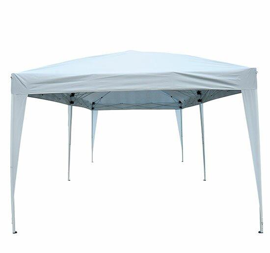 10 Ft. W x 20 Ft. D Steel Pop-Up Party Tent  sc 1 st  Wayfair & Outsunny 10 Ft. W x 20 Ft. D Steel Pop-Up Party Tent u0026 Reviews ...