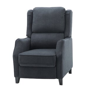 Westfall Upholstered Manual Wall Hugger Recliner
