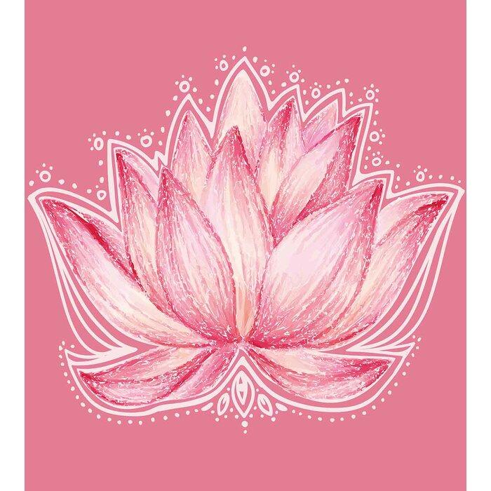 Ambesonne floral lotus flower meditation yoga plant asian zen petal floral lotus flower meditation yoga plant asian zen petal spiritual icon chakra print duvet set mightylinksfo