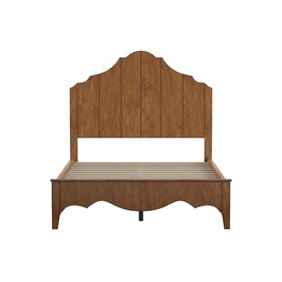 Betts Scalloped Platform Bed by Three Posts Great price