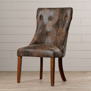 Derwent Upholstered Dining Chair (Set of 2) Three Posts