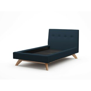 Luna Upholstered Platform Bed by TrueModern