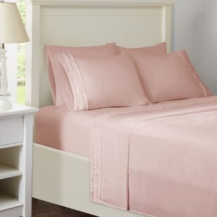 Elica Ruffled Sheet Set by House of Hampton Modern