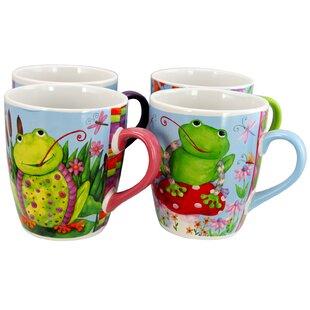 Hank 4 Piece Coffee Mug Set