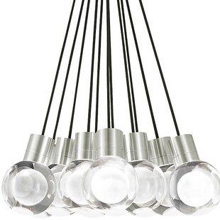 Brayden Studio Hollister 11-Light LED Pendant