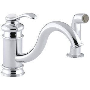 Kohler Fairfax Single Hole Kitchen Sink Faucet with 9