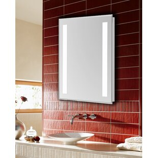 Compare prices Electric Bathroom/Vanity Mirror ByLatitude Run