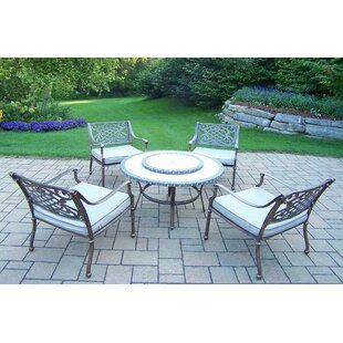 Tacoma 5 Piece Conversation Set with Cushions