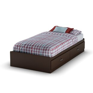 Logik Twin Mate's and Captain's Bed with 2 Drawers by South Shore