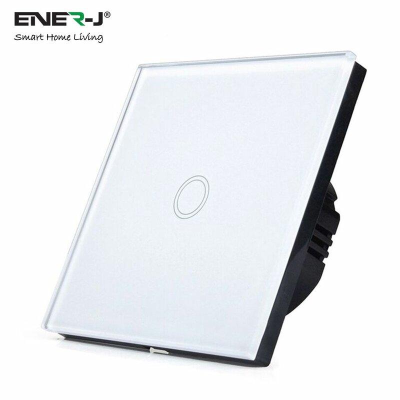 ENER-J Wifi Smart Wall Mounted Light Switch (No Neutral)