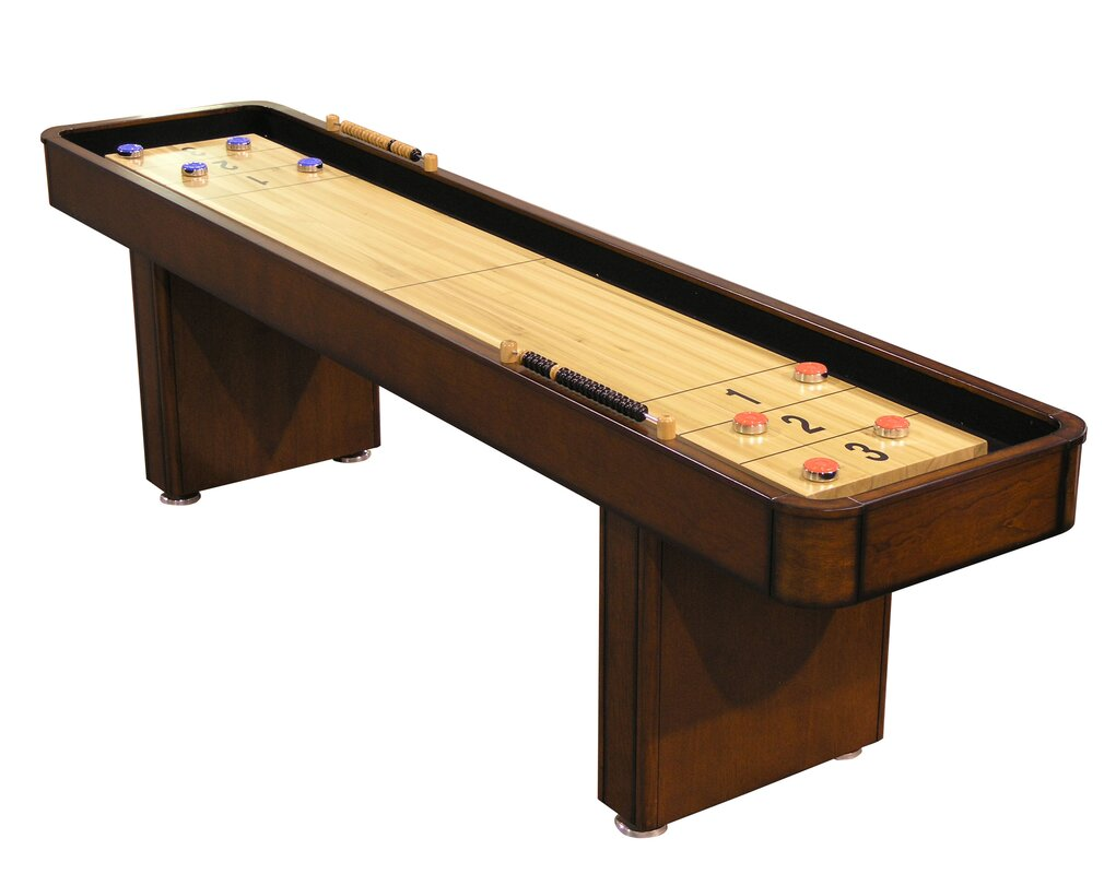 9u0027 Shuffleboard Table