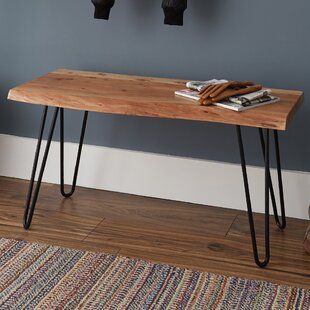 Union Rustic Tindle Wood Bench